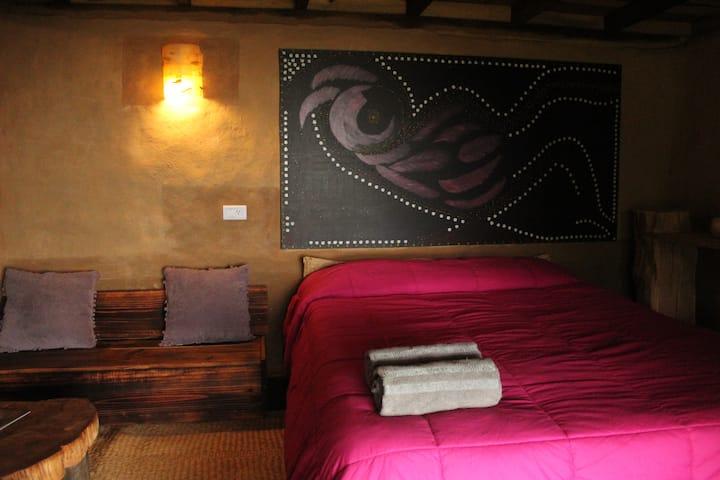 Cabaña completa,Sn Mateo Río Hondo(bed&Breakfast)
