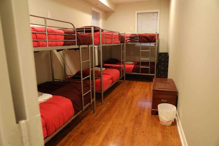 Duo Housing, 6 Bed Mixed Dorm