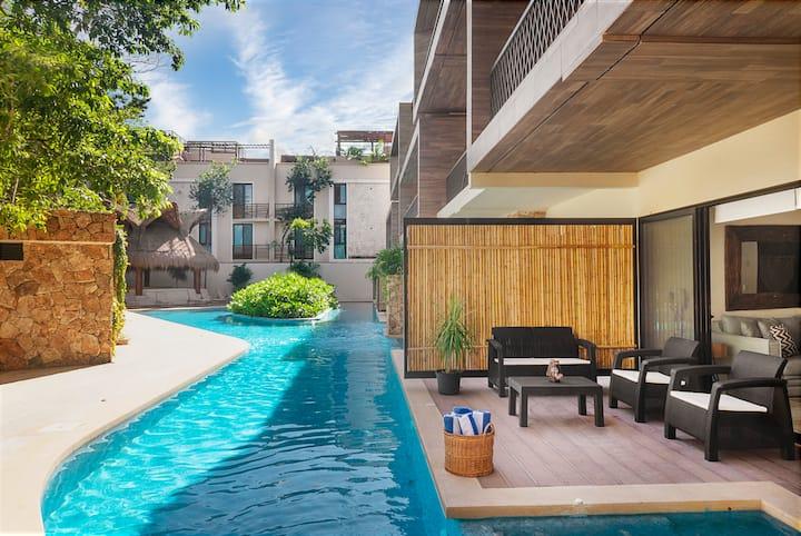 Boho Design, Main Floor, Terrace Priv Pool/Jacuzzi