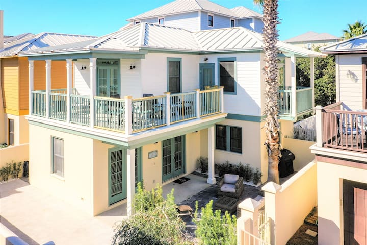 Unit 11: Villas at Sunset Beach, South of 30a, Walk to Rosemary & Alys Beach