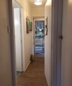 Entrance to the bathroom has no steps