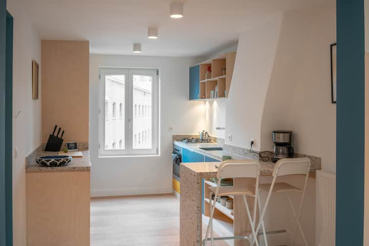 New duplex in center of Gent, ideal for expats!