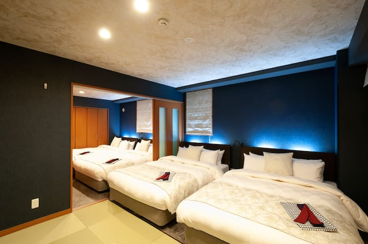 Weskii Hotel Deluxe Family Room 50m2 2泊目半額割引あり