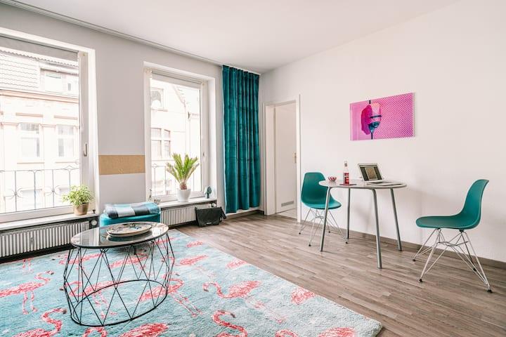 Ruhige Wohnung (50 qm) in Herne-City