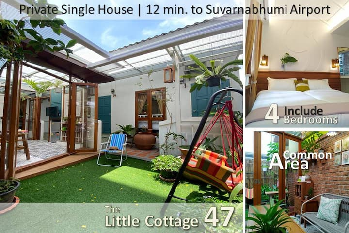 LittleCottage47-4 BR in Thai local style house