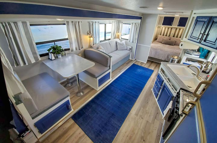Renovated Travel Trailer in central San Diego