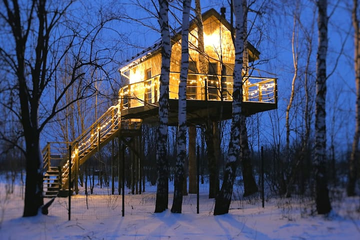 Дом на дереве - Лапочкино гнездо