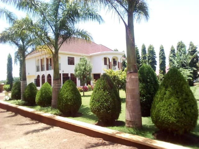 A charming, luxury villa in the outskirt of Moshi
