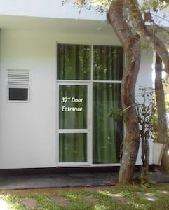 """32"""" wide entrance door"""
