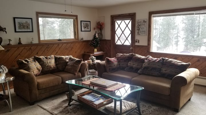 Beautifully updated,  private mountain suite.