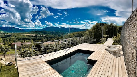 Suite privée #2 & balneo vue panoramique Vercors