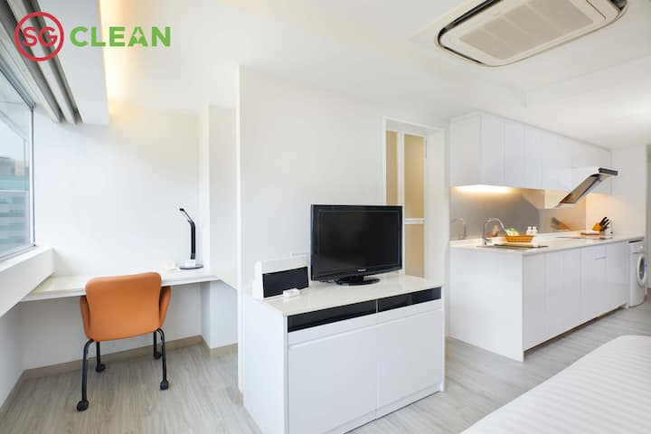 SG CLEAN Studio Apartment in Central Singapore