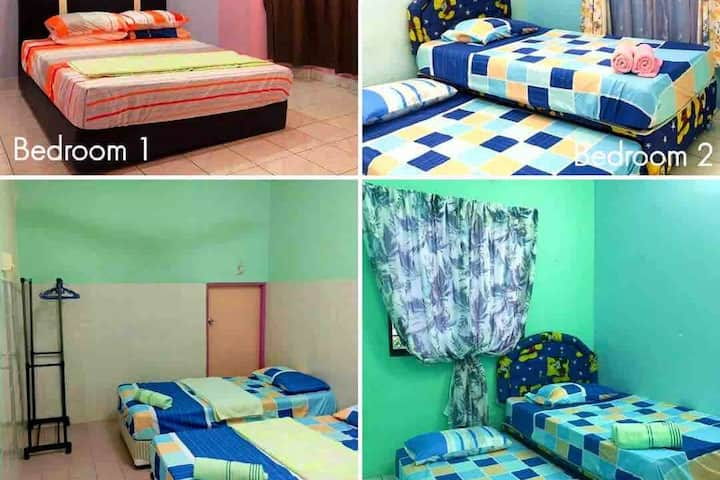 GR HOMESTAY (ENTIRE HOUSE NEAR AIRPORT & SEAVIEW)