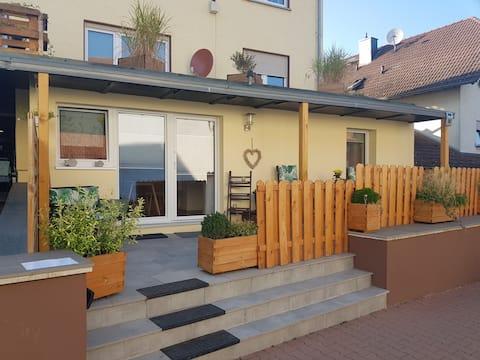 Gemütliche Wohnung in der Nähe von Frankfurt