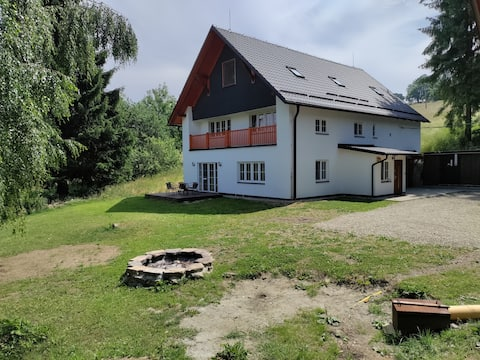 Cozy house in Rychleby mountains
