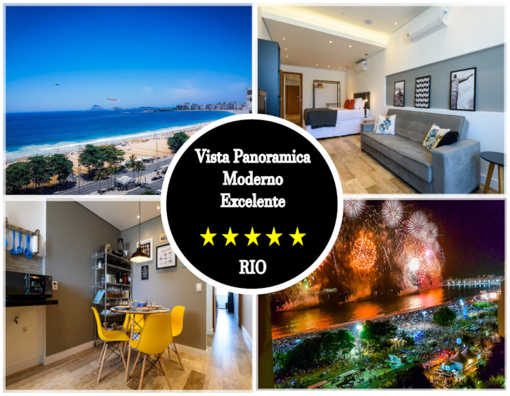 Panoramic Ocean View ⚜ Modern ⚜ Beach Block Rio
