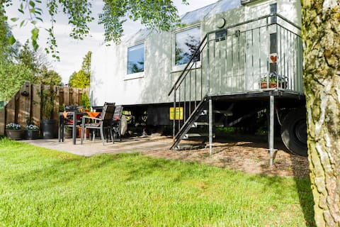 Bauwagen ELLA in der Mecklenburgischen Seenplatte