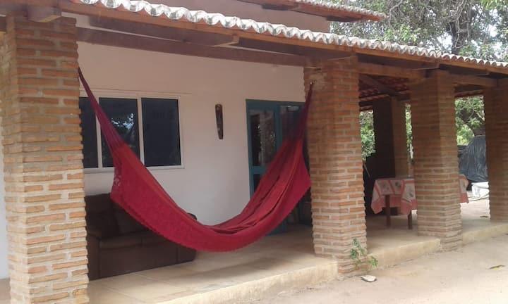 Casa próxima a Lagoa do Paraiso Jericoacoara