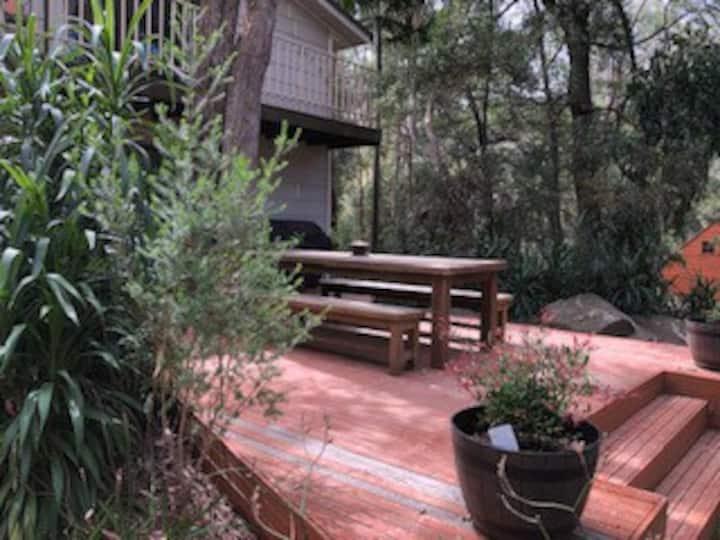 Stunning mountain views & bush garden to relax in