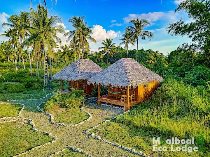 Moalboal Eco Lodge - Private Room with Hammock