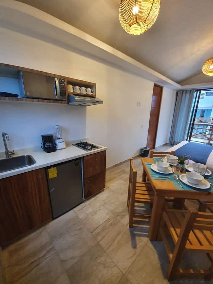 Hotel Casa Shula, 2 recamaras vista mar a/a cocina