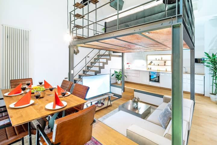 Luxury Three Story Loft In The Heart Of Kreuzberg