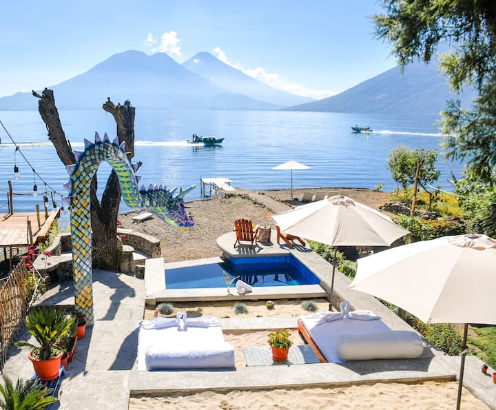 El Dragon Hotel - On the shores of Lake Atitlan(4)