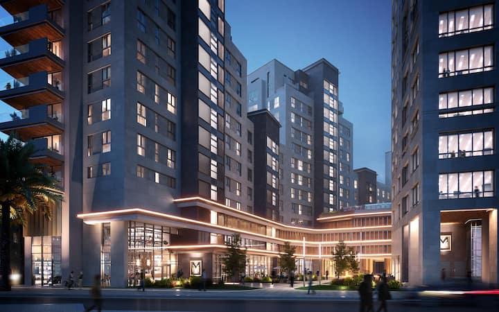 Midtown 5 star apartment