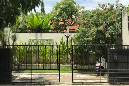 This is private villa parking area