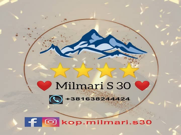 Milmari Apartment S 30 in the Kopaonik ski center