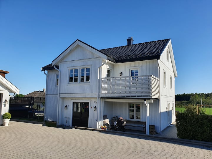 Large villa close to Melsomvik