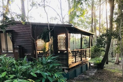 Self contained cabin near Woodford, QLD