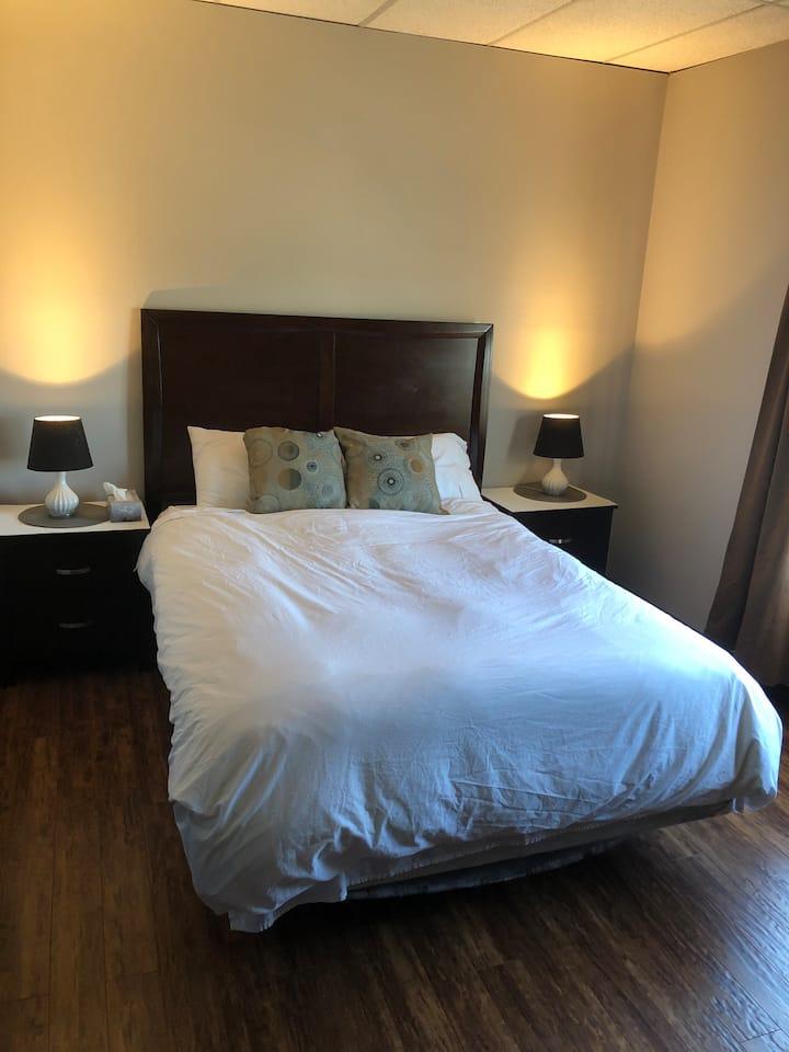 HOME HOTEL Main Floor One Bedroom Suite