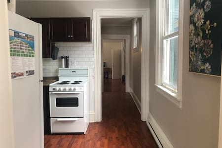 One level living throughout the entire apartment.  Located on the ground floor.  Only 2 steps to enter the unit