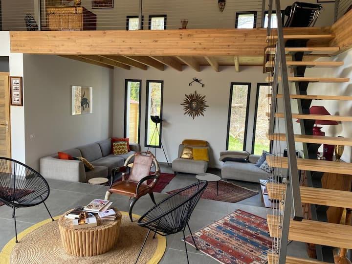 Grande maison luxueuse au coeur du Champsaur