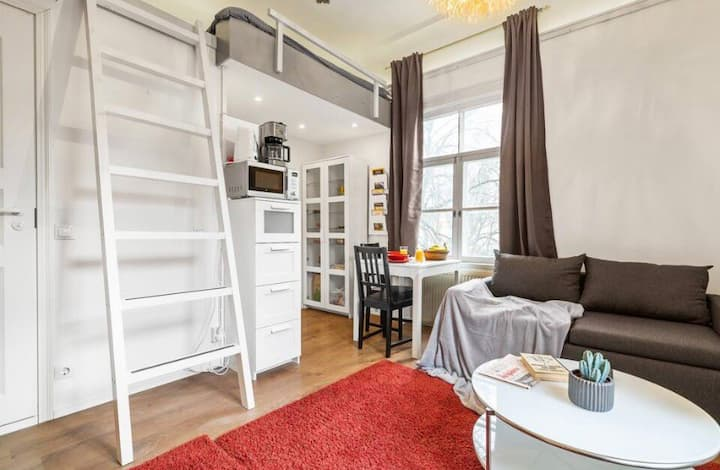 Cozy Loft, near Old Town, free parking