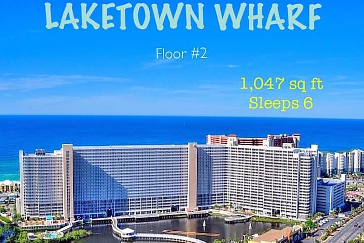 {2nd Floor} LAKETOWN WHARF {1,047 sq ft} sleeps 6