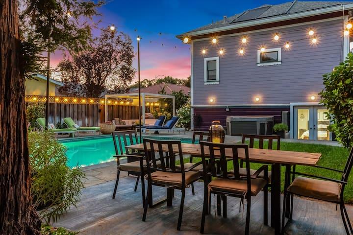 Backyard Retreat | Cozy Boho Suite | Premium Cable