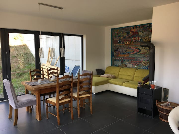 Modern spacious flat in stunning rural location