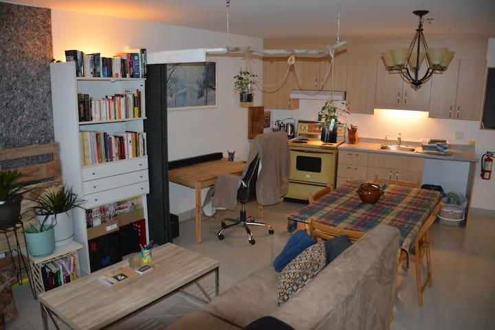 Appartement sur deux étages downtown Rimouski.