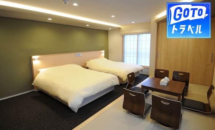 HIZ HOTEL Kyoto★ 301 ★new Japanesehotel Max 5P