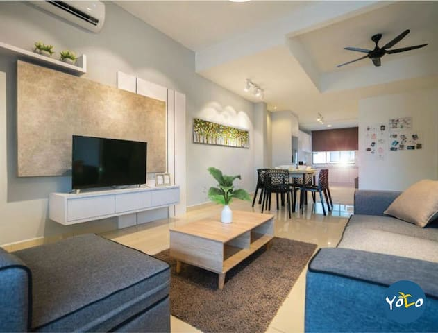 Yolo Desaru - 1 bedroom with living room