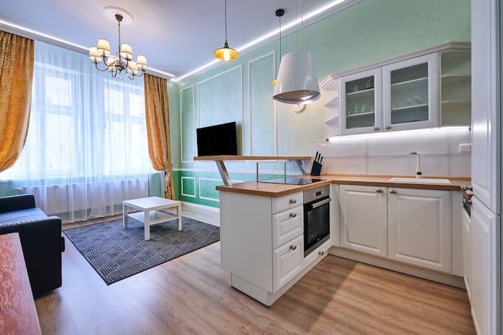 "Apartment Karlovy Vary Central ""3""(45sqm+balcon)"