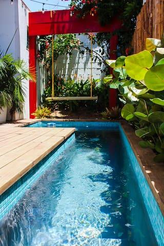 Elena Poolside- Beach House