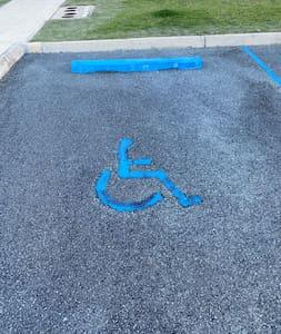 Aparcamiento para personas con discapacidad