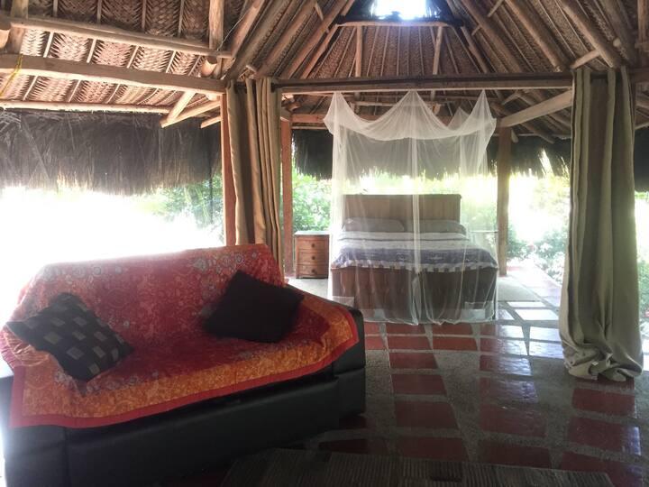 Cabaña Casa Caribe Playa privada Únicos Huéspedes