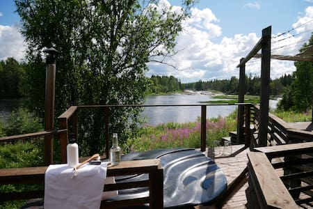 Villa Koiteli Rapids / Sauna, Hot tub, Fireplace..
