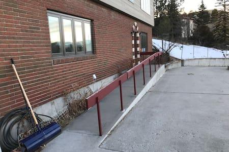 Acces fără trepte la intrarea exterioară