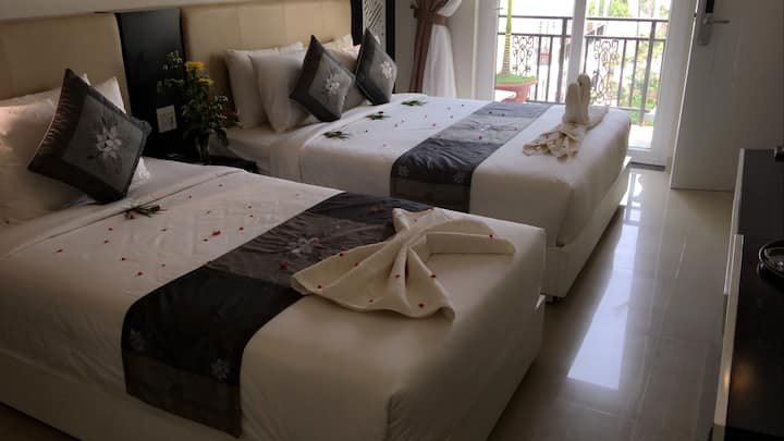 Phòng Khách sạn ở Mũi né - Gần biển, Có hồ bơi,