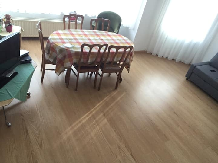 Flat for 6-7 persons near the city centre